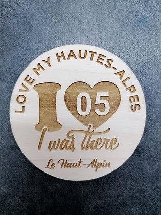 Dessous de verre Hautes-Alpes 05