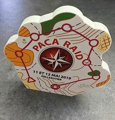 Trophée PVC PACA RAID