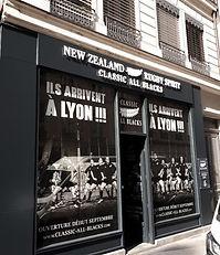 Enseigne Classic All Black LYON