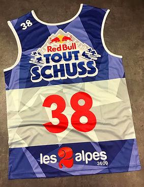 Dossard RedBull TOUT SCHUSS Les 2 Alpes optimum 05