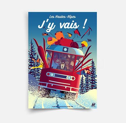 Affiche Les Hautes-Alpes J'y Vais !