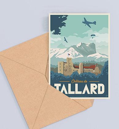 Carte Postale Château de Tallard