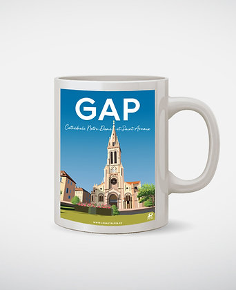 Mug Gap Cathédrale