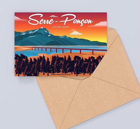 Carte Postale Serre-Ponçon