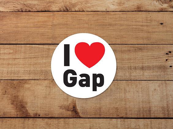 Adhésifs I Love Gap