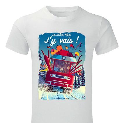 Tee-Shirt Les Hautes-Alpes J'y Vais !