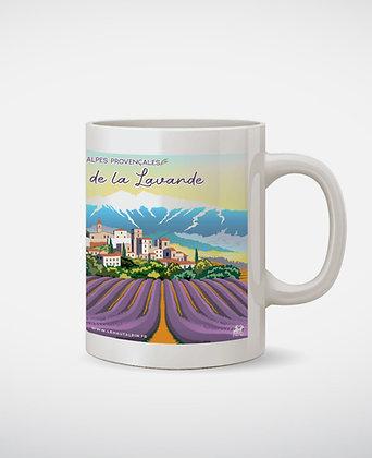 Mug Route de la Lavande