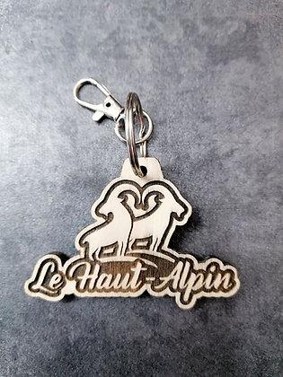 Porte-clés Le Haut-Alpin