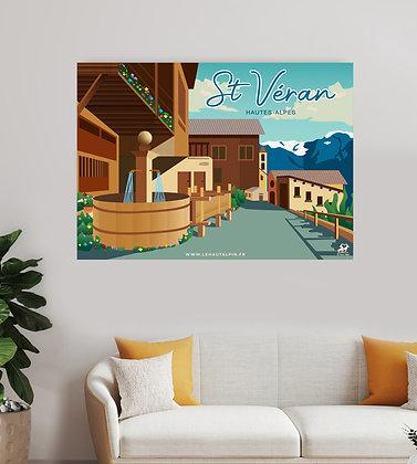 Tableau St Véran
