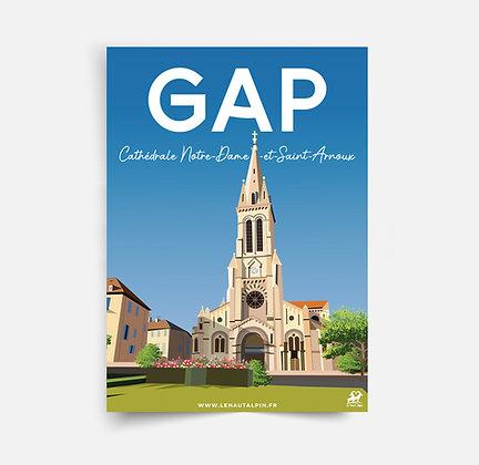 Affiche Gap - Cathédrale