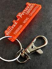 Porte-clés Plexi gravé