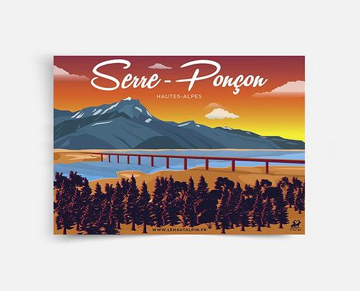 Affiche Serre-Ponçon