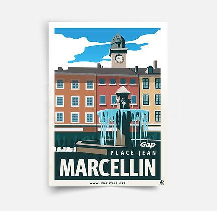 Affiche Gap - Place Marcellin