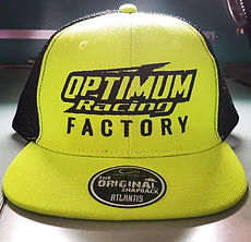 Casquette brodée Optimum Racing