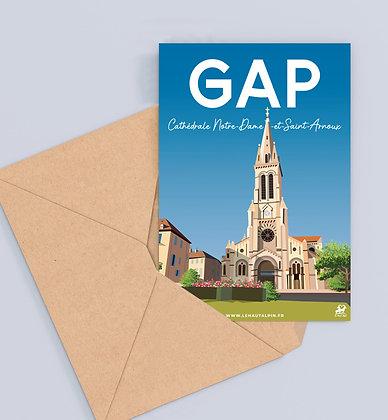 Carte Postale Gap - Cathédrale