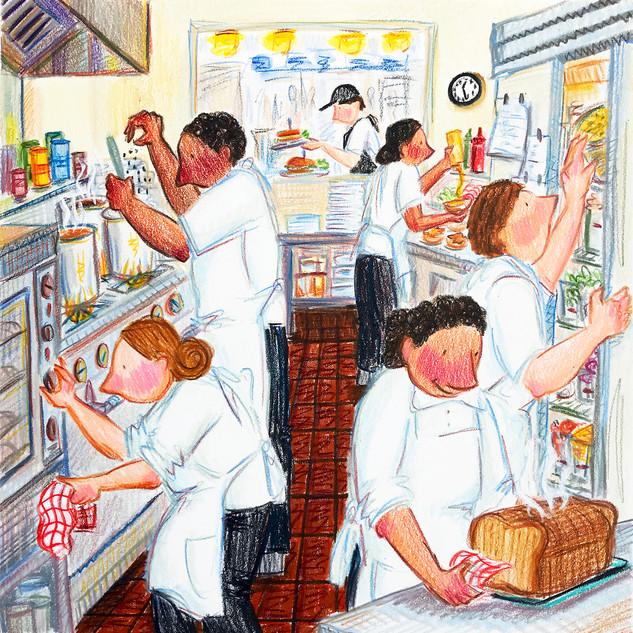 Torrance Bakery - The Cooks