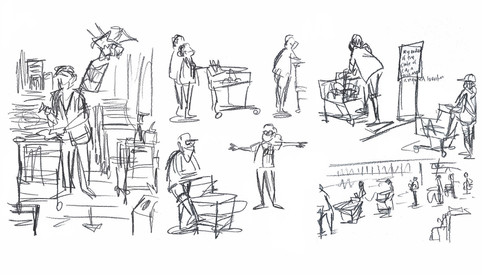 Shopping Lines - Studies
