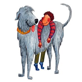 Kid and Big Dog 3
