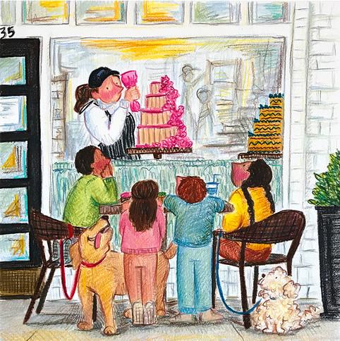 The Cake Window