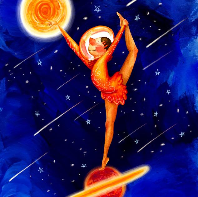 Galactic Rhythmic Gymnastics