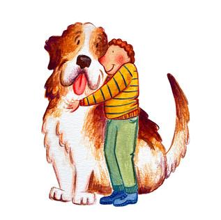 Kid and Big Dog 2