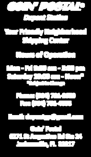 Goin Postal Overnight FedEx Express USPS and International DHL