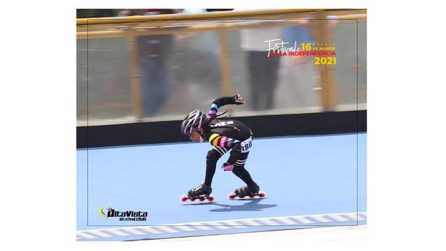 Sueño con ser la mejor patinadora del mundo: Keily Rocha Miranda