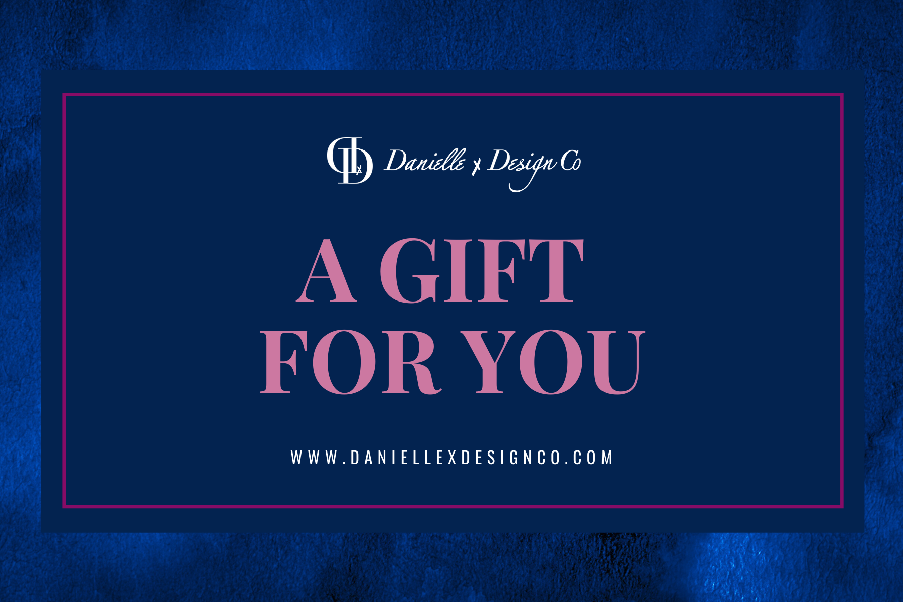 danielle x design co gift certificates