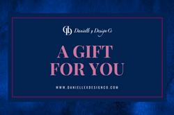 danielle x design co gift certificates
