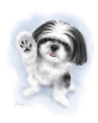 watercolor style pet portraits