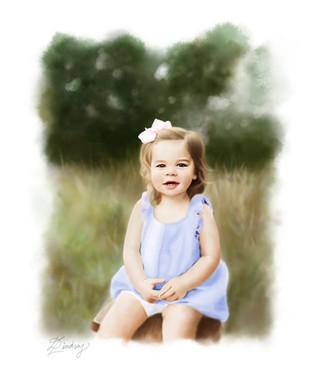 custom realistic watercolor portrait