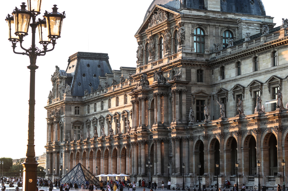 Perfect Paris fine Art photograph Louvre