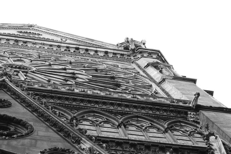 Notre Dame Cathedral Beautiful Art Photo