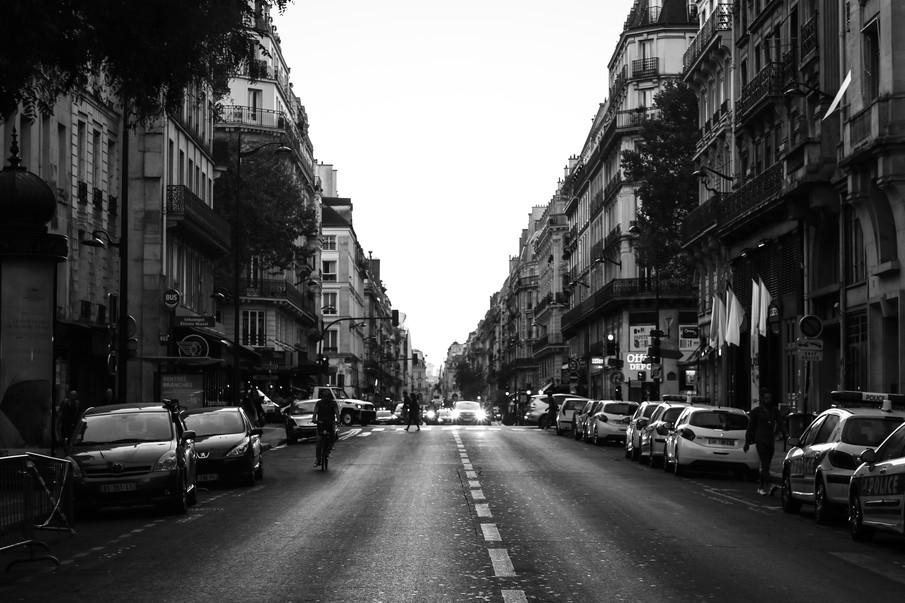 Beautiful Paris Street by Daniel Fine Ar