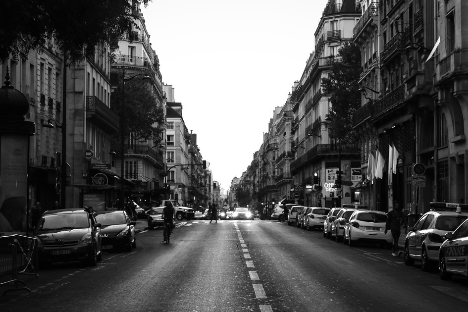 Beautiful Paris Street by Daniel Fine Ar
