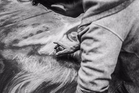 Daniel Swan Leopard Drawing Street Art.j