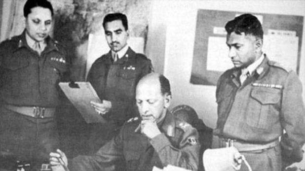 General KC Cariappa at the time of Partition