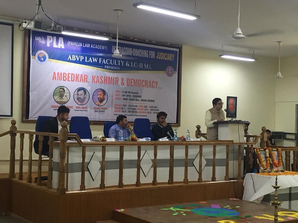 Seminar at DU
