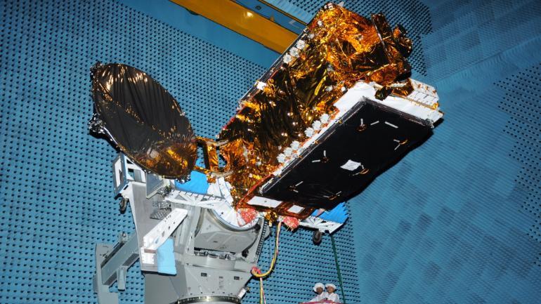इसरो द्वारा यही 40 वां उपग्रह अपनी कक्षा में आज स्थापित