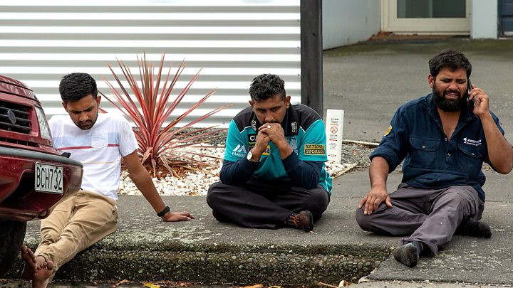 New Zealand Shootings Credits BBC