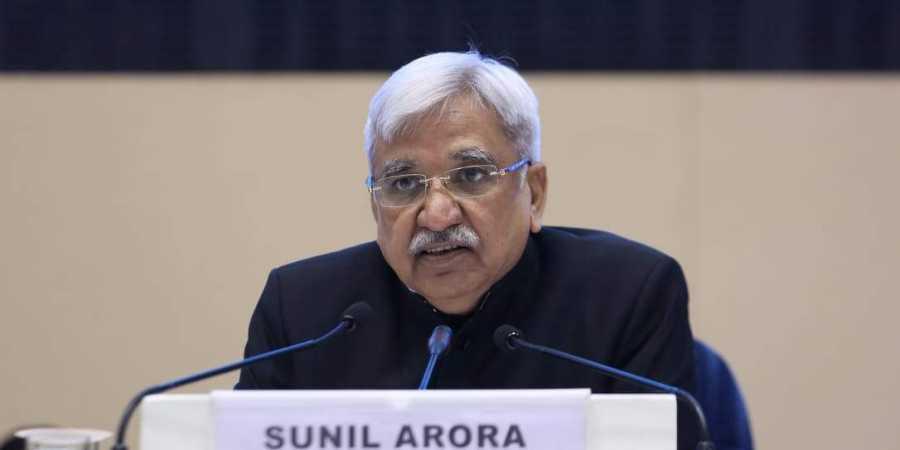 मुख्य चुनाव आयुक्त सुनील अरोड़ा