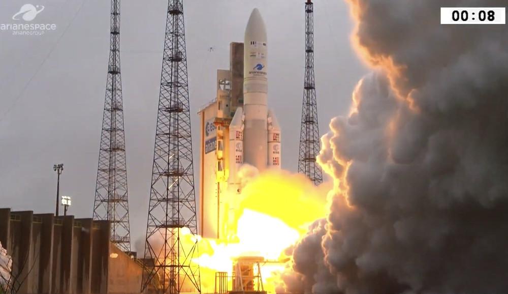 आधुनिक संचार उपग्रह जीसैट-31 का प्रेक्षण