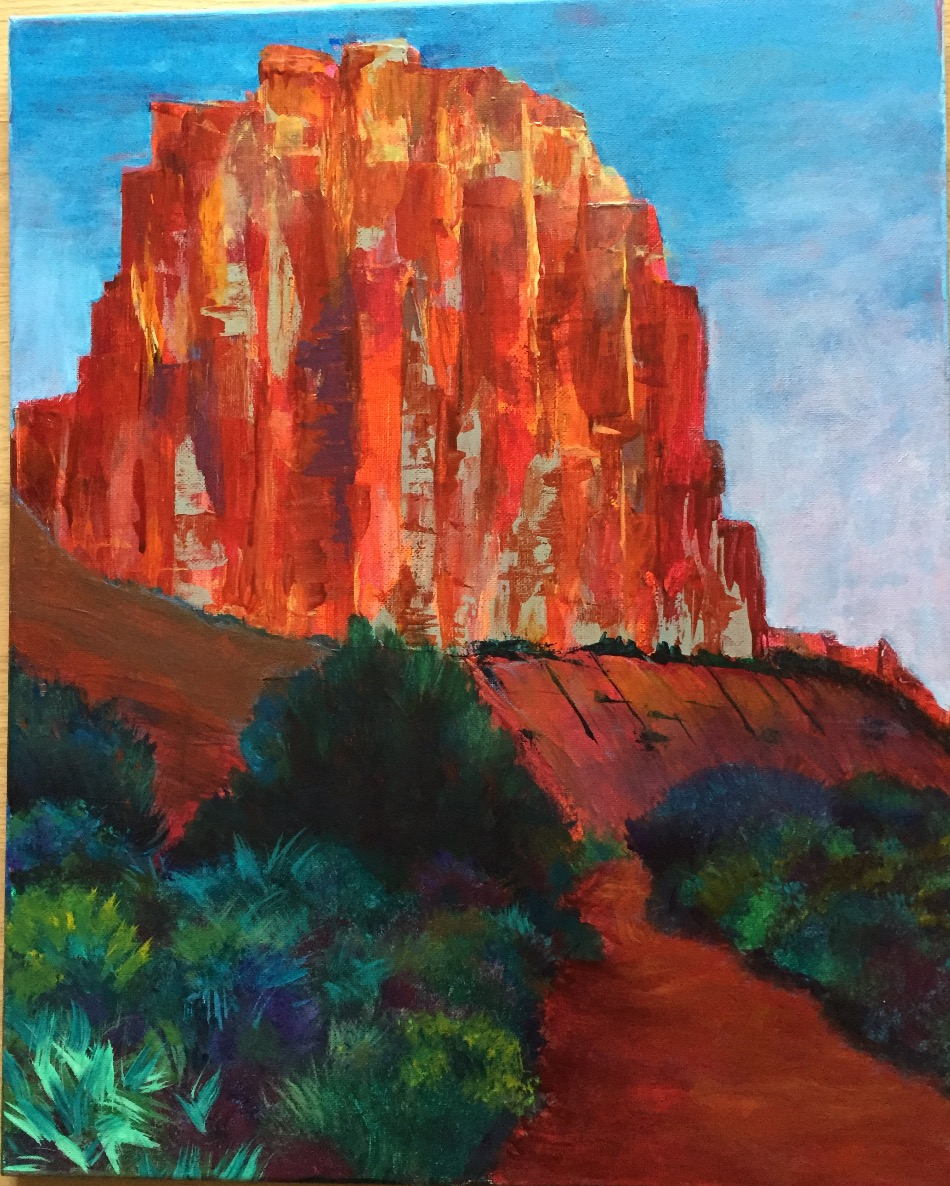 Ghost Ranch monolith