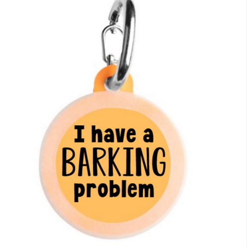 I Have a Barking Problem charm from Bad Tags