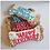 Thumbnail: Happy Birthday Dog Bone Treat treat from Dog Park Publishing