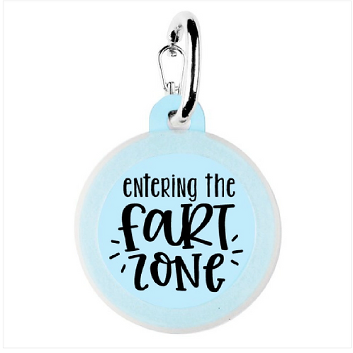Entering the Fart Zone charm from Bad Tags
