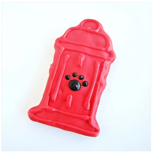 Fire Hydrant treat from Dog Park Publishing