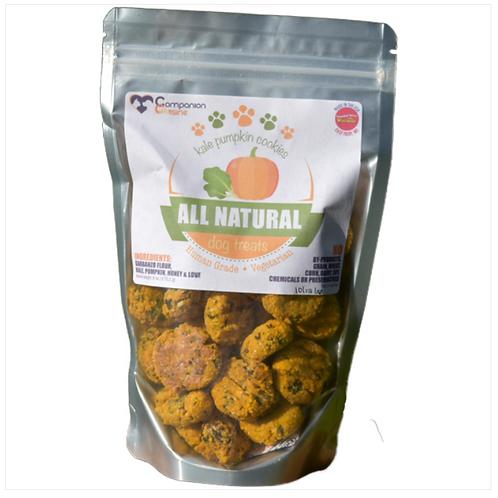 Kale Pumpkin treats from Companion Cuisine