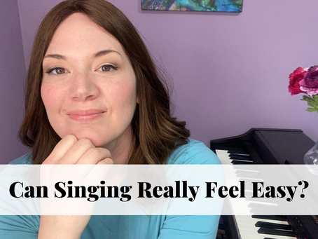 Can Singing Really Feel Easy?