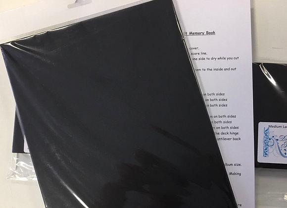 MEDIUM  LANDSCAPE /PORTRAIT MEMORY BOOK KIT